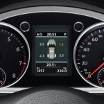 Instrument cluster with MFA Premium Color - Tire pressure
