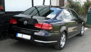 Volkswagen Passat B7 - back