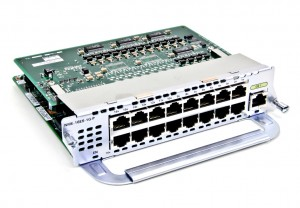 Recover a Cisco switch service module NME-16ES-1G-P from a