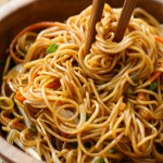 Another soy sauce noodles recipe.