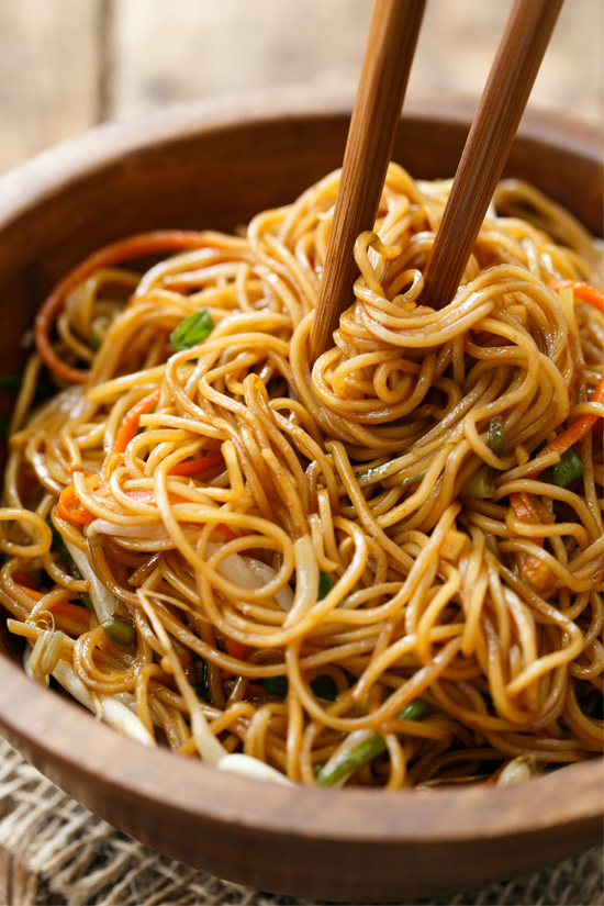 egg noodles recept
